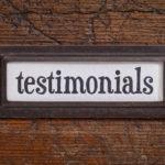 homeopathic testimonial