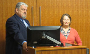 Homeopaths Manfred Mueller and Julie Insley lecturing at UNC Medical School Oct 2015