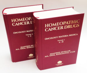 Homeopathic Cancer Drugs Book Manfred Mueller